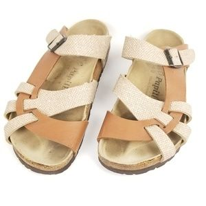 Birkenstock Pappilio Pisa Strappy Leather Sandals